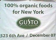 Gusto Organics