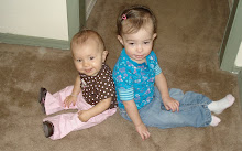 kynlee and my friend's lil girl