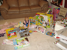 all her gifts after she opened them