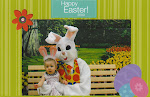 kynlee and the easter bunny
