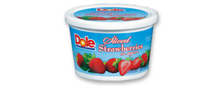 Dole Sliced Strawberries