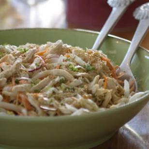 Thanksgiving Asian Chicken Salad