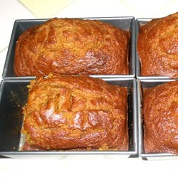 Christmas Downeast Maine Pumpkin Bread