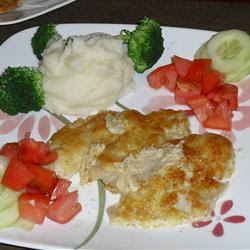 Broiled Grouper Parmesan