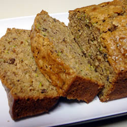 Mom's Zucchini Bread Recipe