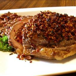 Try this Cranberry Pecan Stuffed Beef Sirloin Roast