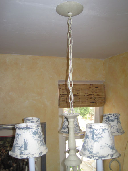 La maison reid make your own chandelier chain cover for Build your own chandelier