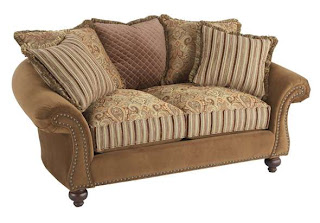 The Bad (and The Overstuffed): Cindy Crawford Hathaway Love Seat, At Wickes  Furniture