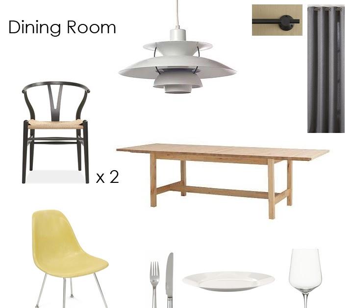design boner dining room mock up