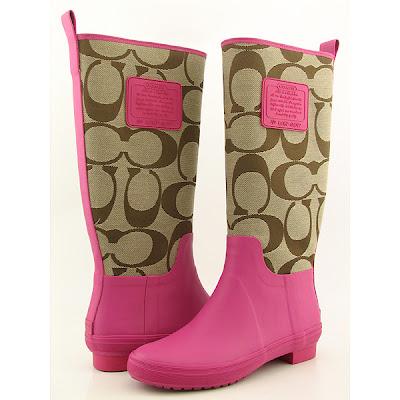 Fashion Rain Boots on Dream Artists  Coach Rain Boots