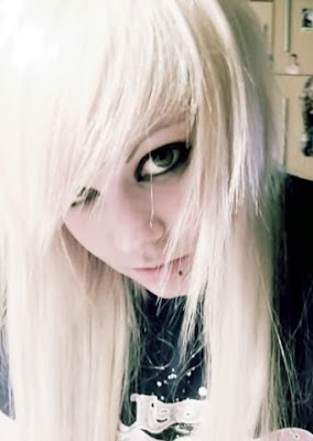 Emo Blonde Hair With Black Underneath