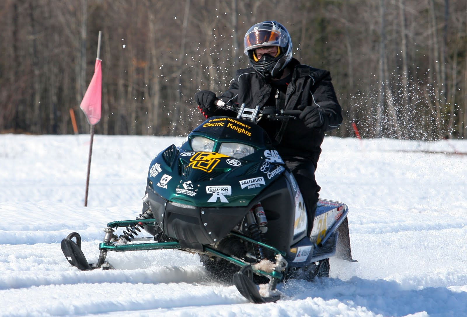 Clarkson University Electric Snowmobile Earns Trip to Greenland in ...