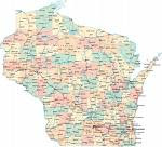 Wisconsin State Map