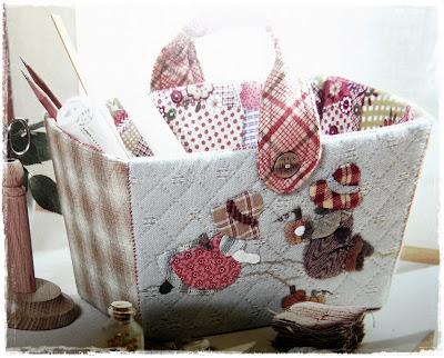 Cosas de nana cesta de costura - Cesta de costura ...