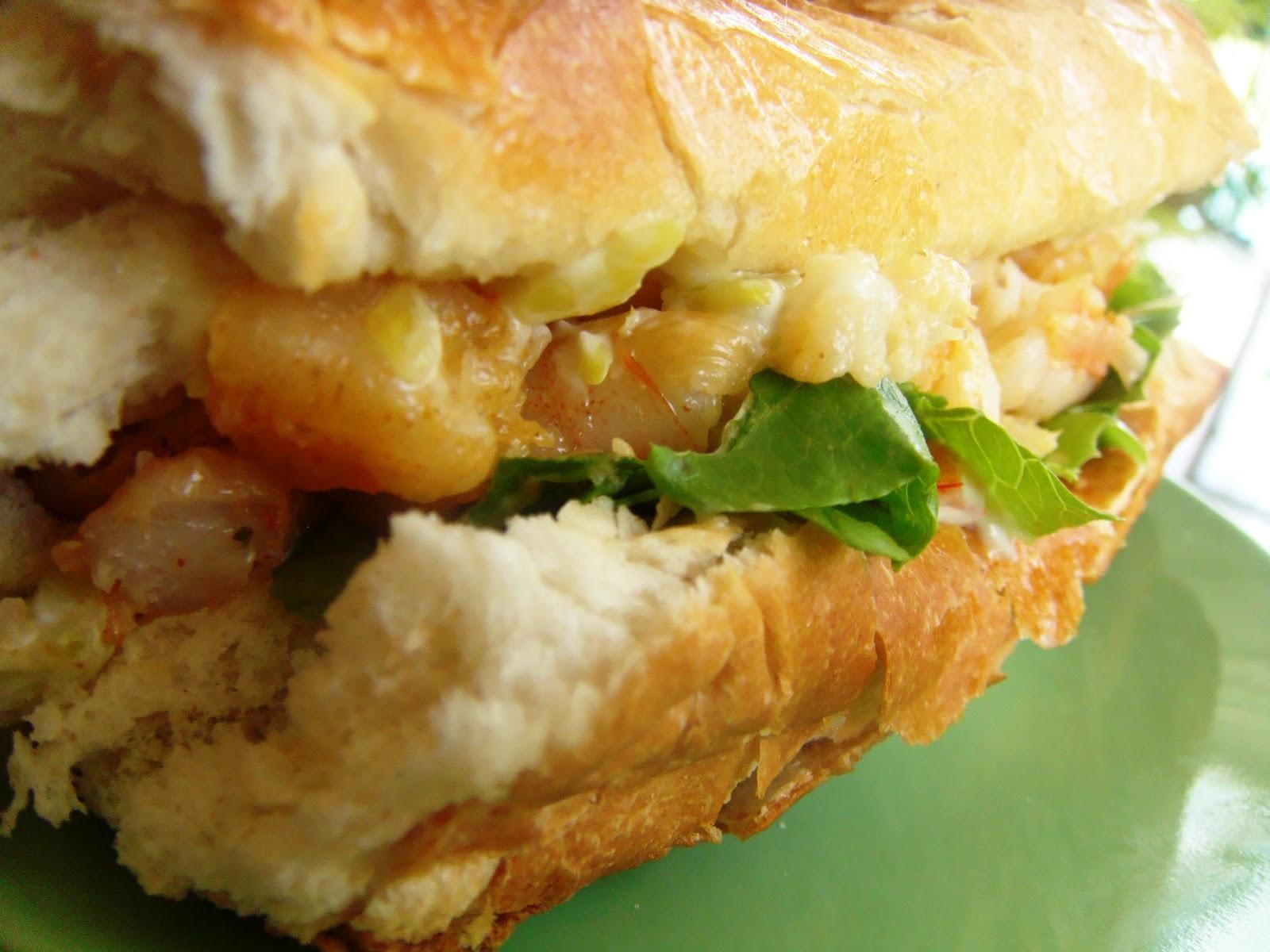 Creamy Shrimp Sandwich with Chipotle-Lime Mayonnaise ...