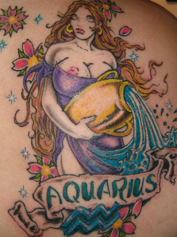 taurus-zodiac-sign-tattoo.jpg Taurus tattoo. Zodiac Tattoos Aquarius design