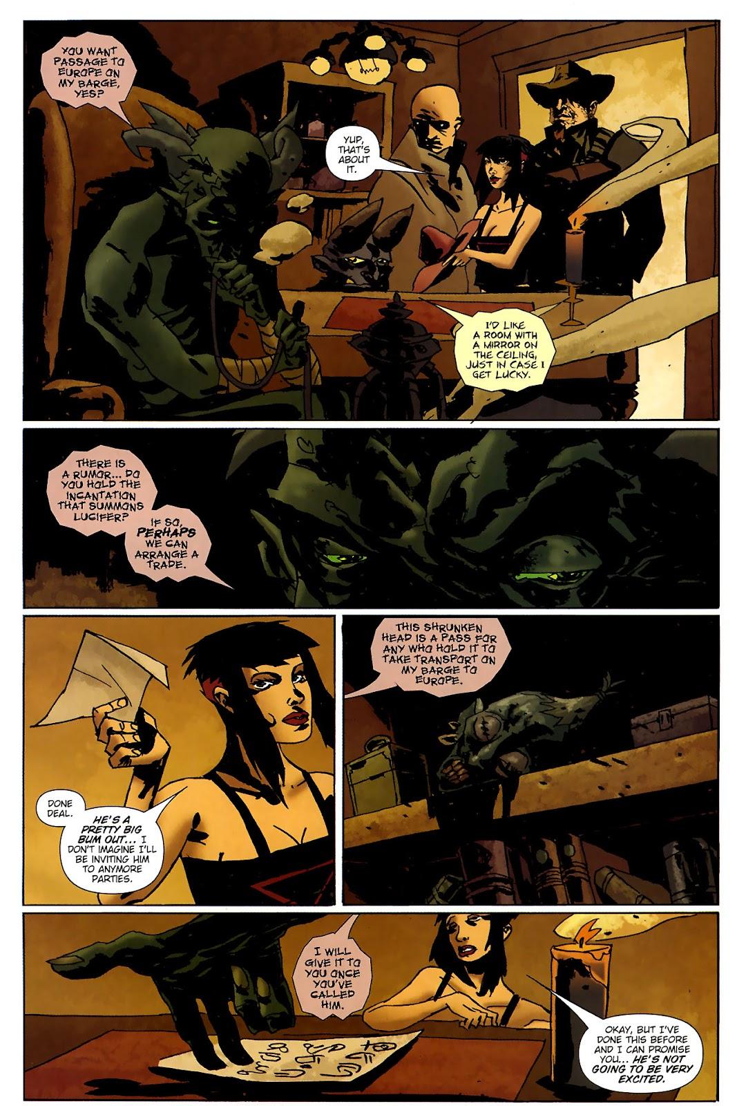 Strange Girl Issue #15 #16 - English 10