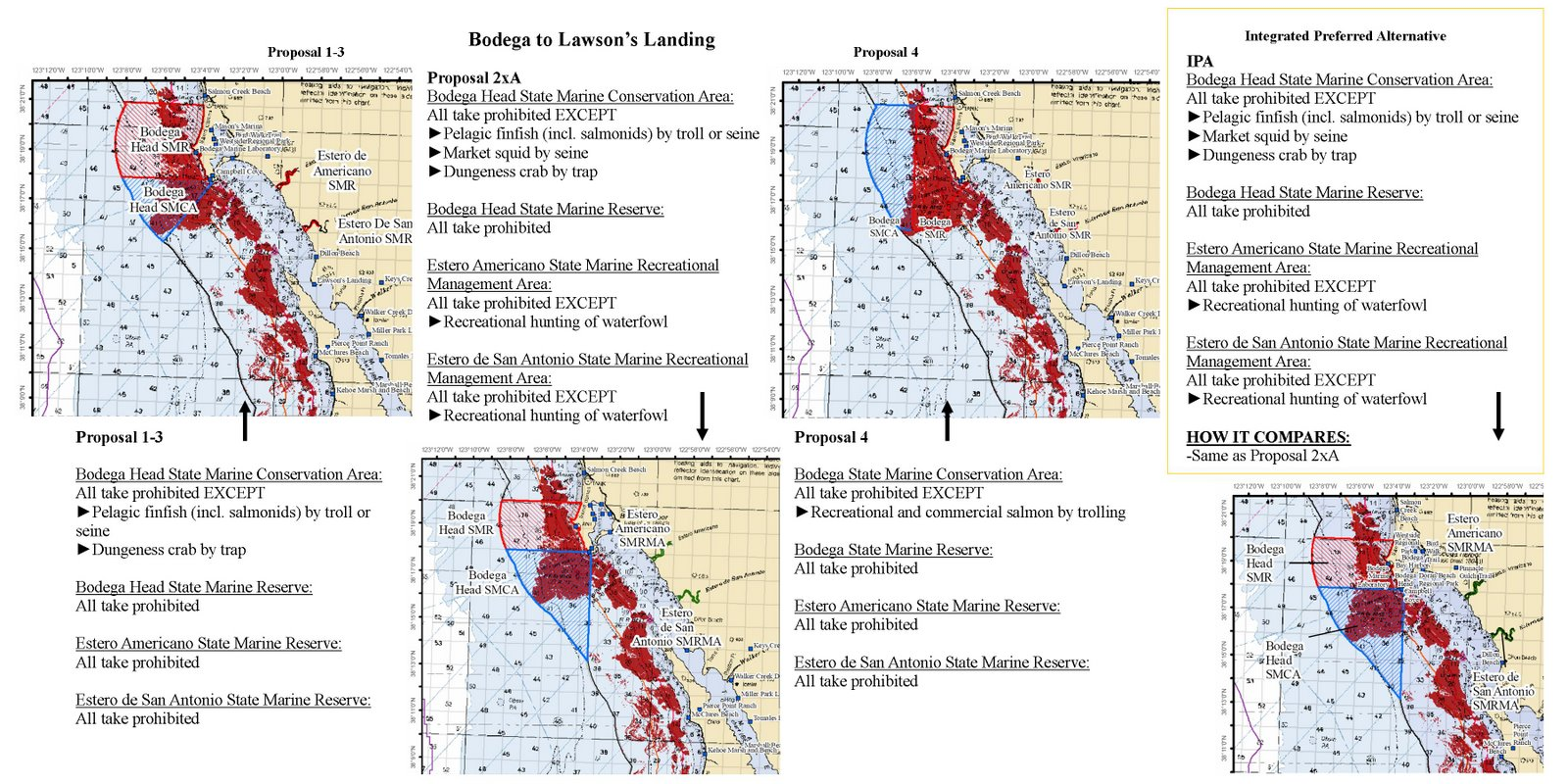 Bodega to Lawson's Landing