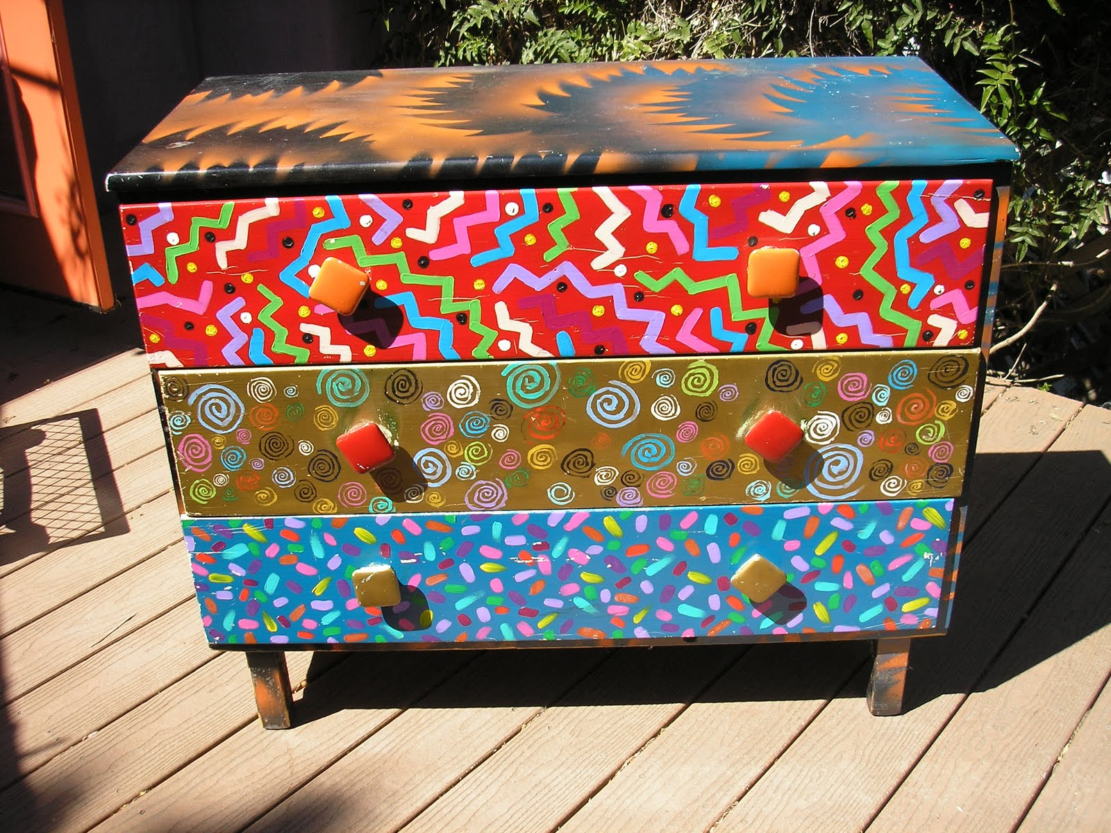 Sprucing Up Thrift Store Furniture Lavapen Art By Labash