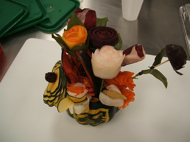 Show Piece I made in culinary school