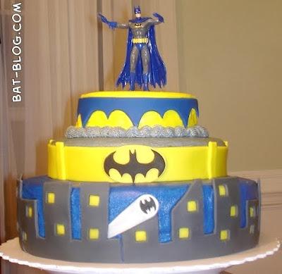 Happy Birthday Batman Cake September