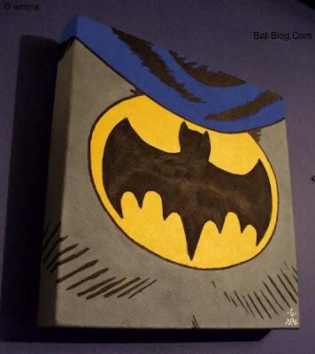 Emmas Paintings Another Batman Inspired Artist Black Bat