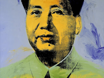 Desktop Wallpapers: ANDY WARHOL Portrait and CHAIRMAN MAO Pop Art Painting