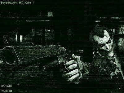 Wallpaper Joker Arkham Asylun Security Camera