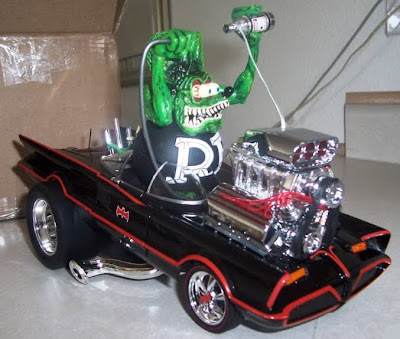 rat fink 1966 batmobile custom hot rod car model kit your number 1