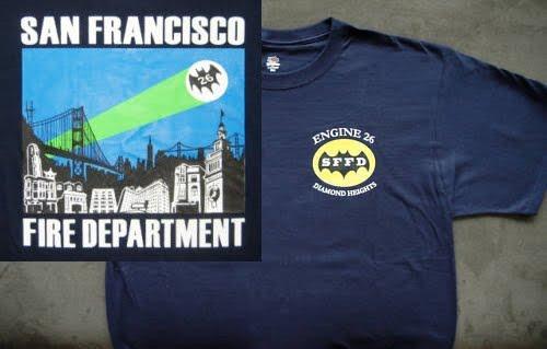 Legend Of The Batman 1966 Batman And San Francisco Fire Department