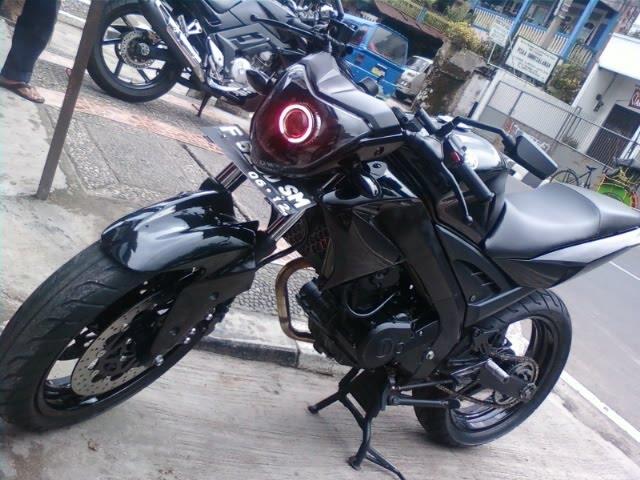 Modif Yamaha Vixion Street Fighter