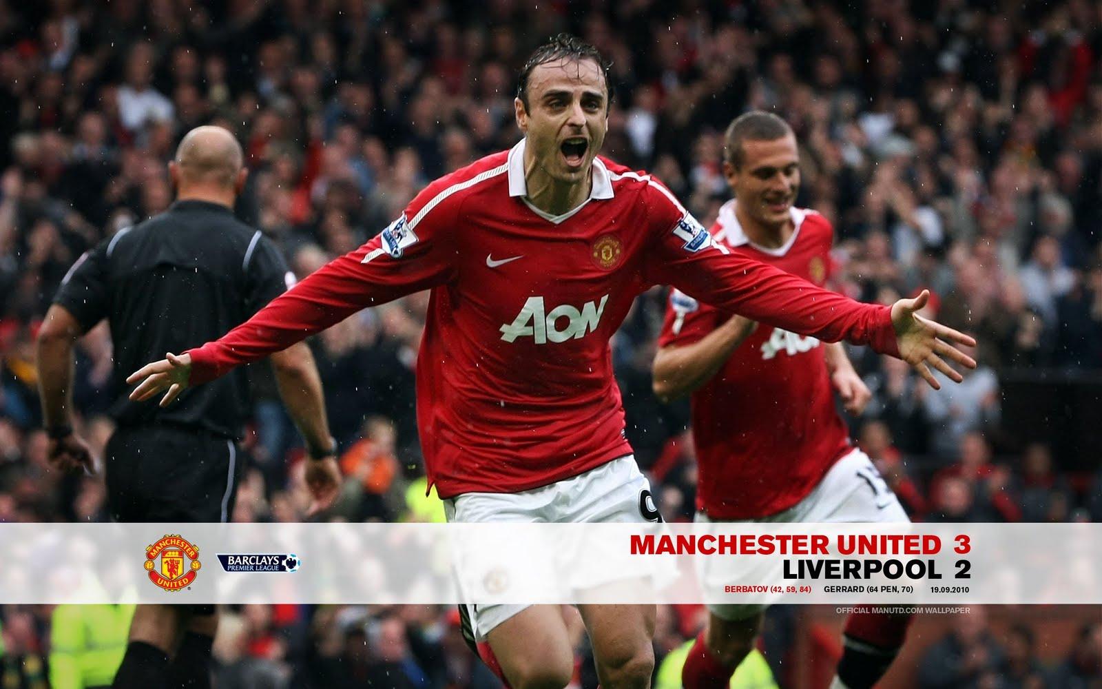 Man United Malaysia No 1 Fan Manchester United Vs Liverpool 2010 11 Wallpaper