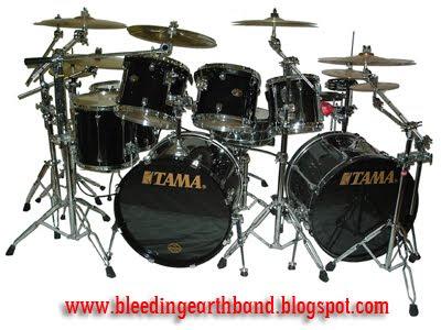 Tama Drum Wallpaper Bleeding Earth Drums
