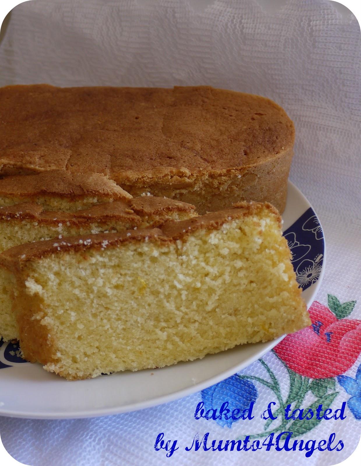 Mum to 4 Angels: Cream Cheese Pound Cake
