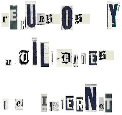 Textos con letras de diario