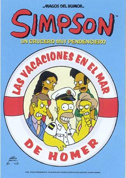 Vacaciones 'Simpsons' en el mar