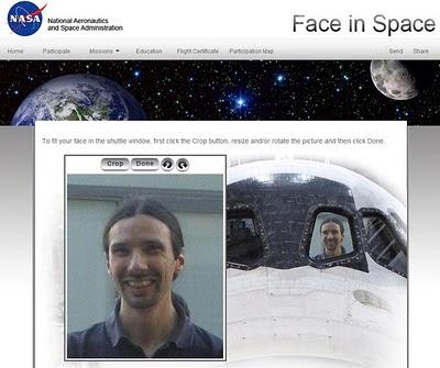 Envía tu foto al espacio con la NASA