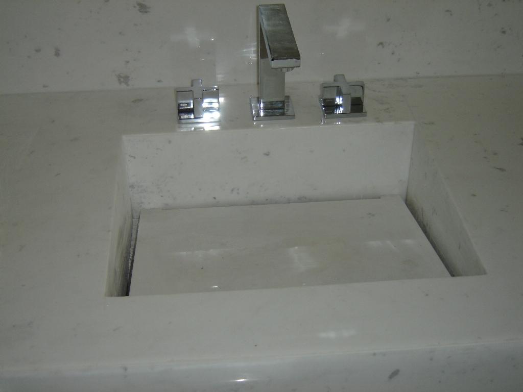 Galeria do Mármore Banheiros -> Cuba Banheiro Marmore
