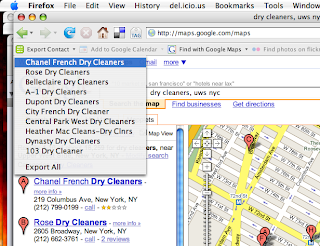 Official Google Maps API Blog: Microformats in Google Maps