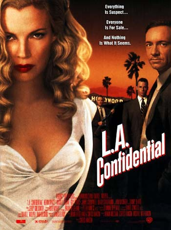 a comparison of la confidential and film noir In a poll conducted by the los angeles times la confidential is described as film noir, and so it is, but it is more: unusually for a crime film.