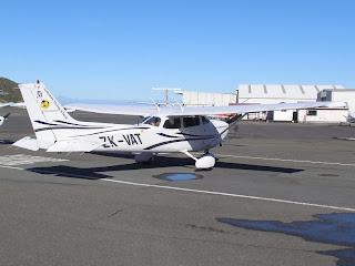 ZK-VAT Cessna C172R from Ardmore Flying School