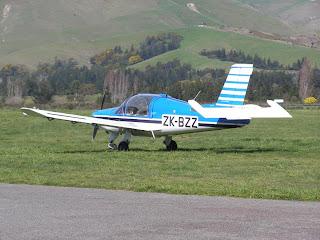 Morane-Saulnier MS 880B, ZK-BZZ