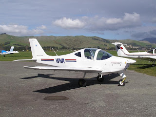 Marlborough Aero Club, Tecnam P2002 Sierra, ZK-WNR