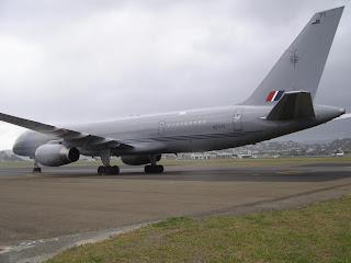 RNZAF, Boeing B757, NZ7571