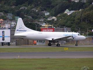 Convair 340, VH-PDW, Pionair