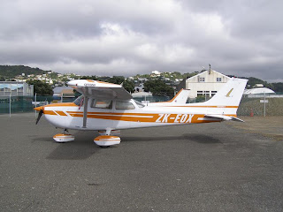 Cessna 172N, ZK-EOX, Ardmore Flying School