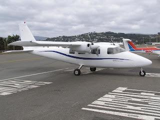 Partenavia P68C, ZK-KAP, Kapiti Aero Club