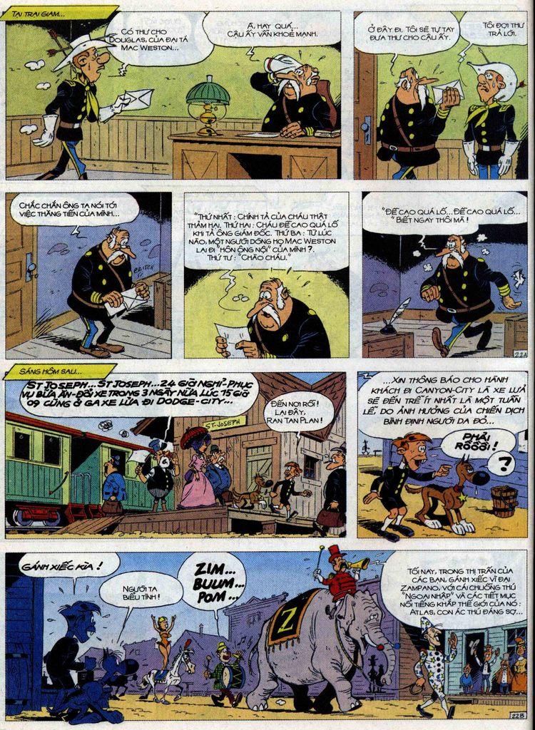 Lucky Luke Chap 71 - Trang 22