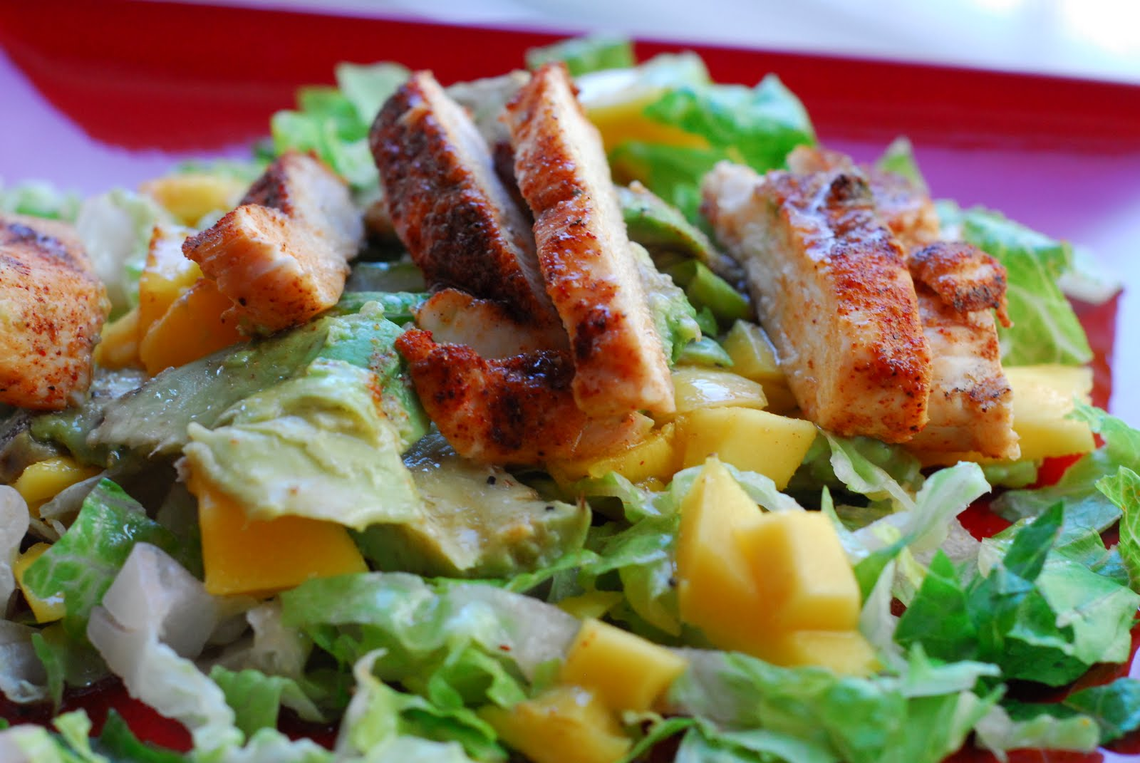 Bites: Spicy Honey Chicken Salad