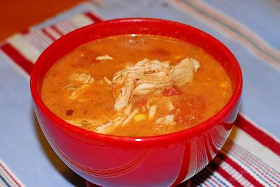 Bites: Catherine's Spicy Chicken Soup